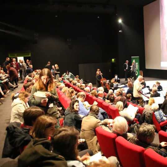 Ciné-concert, Bruxelles, au Palace, 26 janvier 2020