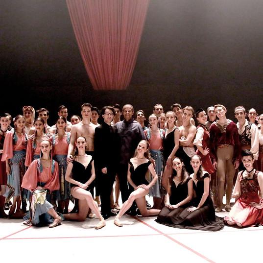 Léonard Ganvert, Éric Vu-An, les solistes et le Ballet Nice Méditerranée - 21 décembre 2019