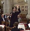 Léonard Ganvert dirige le Te Deum de G. Bizet, à Clichy.