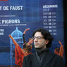 Léonard Ganvert devant l'Opéra de Nice