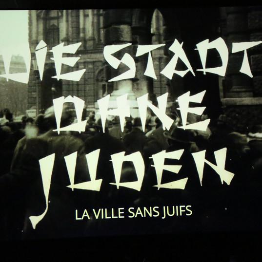 Ciné-concert, Bruxelles, au Palace, 26 et 27 janvier 2020, La ville sans juifs, film muet (1924) de H.K. Breslauer