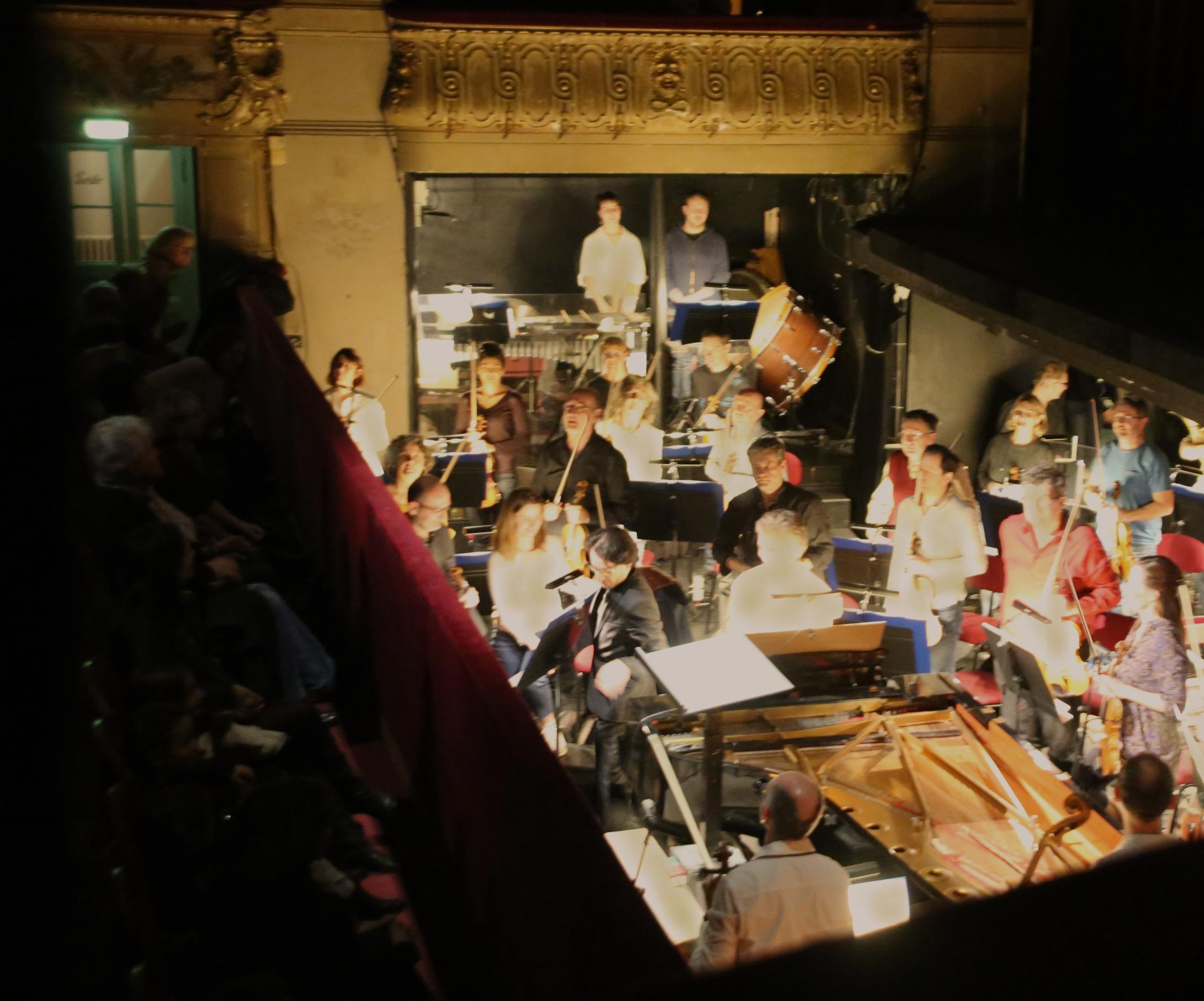 Léonard Ganvert et l'Orchestre Philharmonique de Nice Côte d'Azur