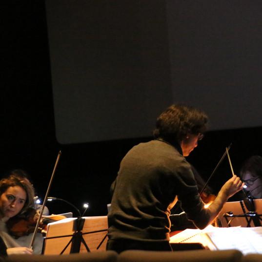 Ciné-concert, Charleroi, au Quai 10, 18 février 2020
