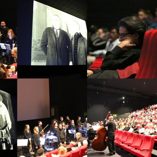 Ciné-concert, Bruxelles, au Palace,  27 janvier 2020