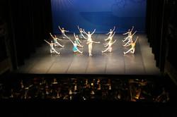 Le ballet et l'orchestre