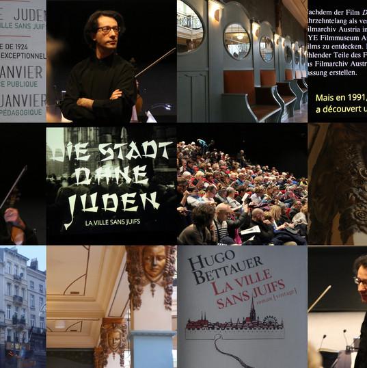 Ciné-concert, Bruxelles, au Palace, 26 et 27 janvier 2020