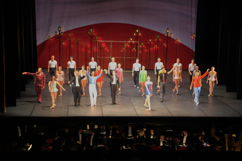 Le Ballet Nice Méditerranée, l'Orchestre Philharmonique de Nice, R. Galfione et Léonard Ganvert