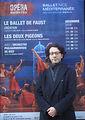 Léonard Ganver à l'Opéra de Nice, décembre 2018