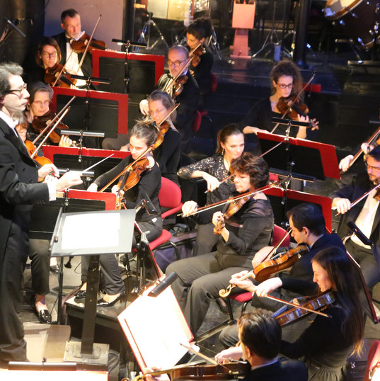 Léonard Ganvert avec l'Orchestre Philharmonique de Nice