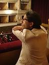 Léonard Ganvert au Théâtre Mancinelli à Orvieto (Italie), août 2016