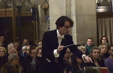 Léonard Ganvert, chef d'orchestre