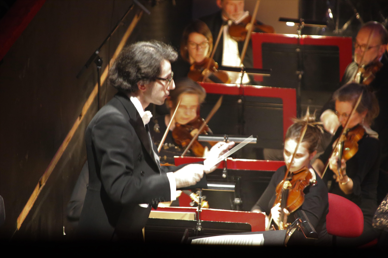 un solo à l'orchestre