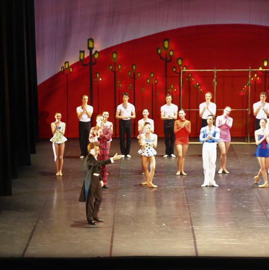 Première - Le Ballet applaudit Léonard Ganvert et l'Orchestre