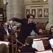 Léonard Ganvert dirige le Psaume 150 de C. Franck.