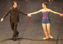 Léonard Ganvert et Veronica Colombo