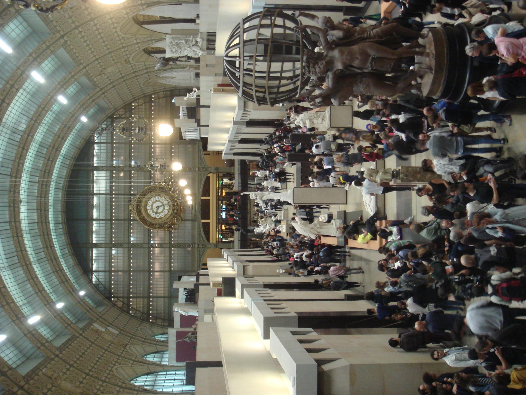 La Grande Galerie se remplit