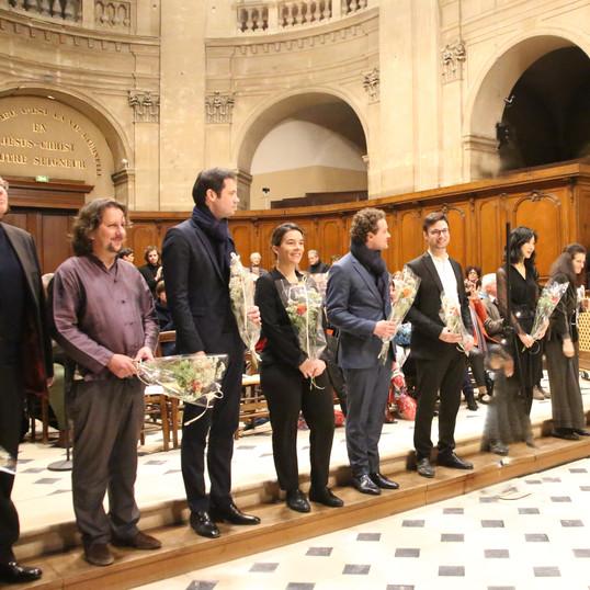 La Révolte des orgues pour 9 orgues et percussions