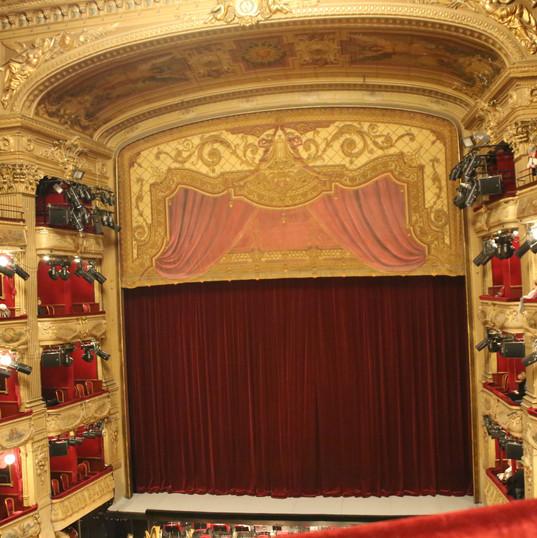 La salle de l'Opéra de Nice
