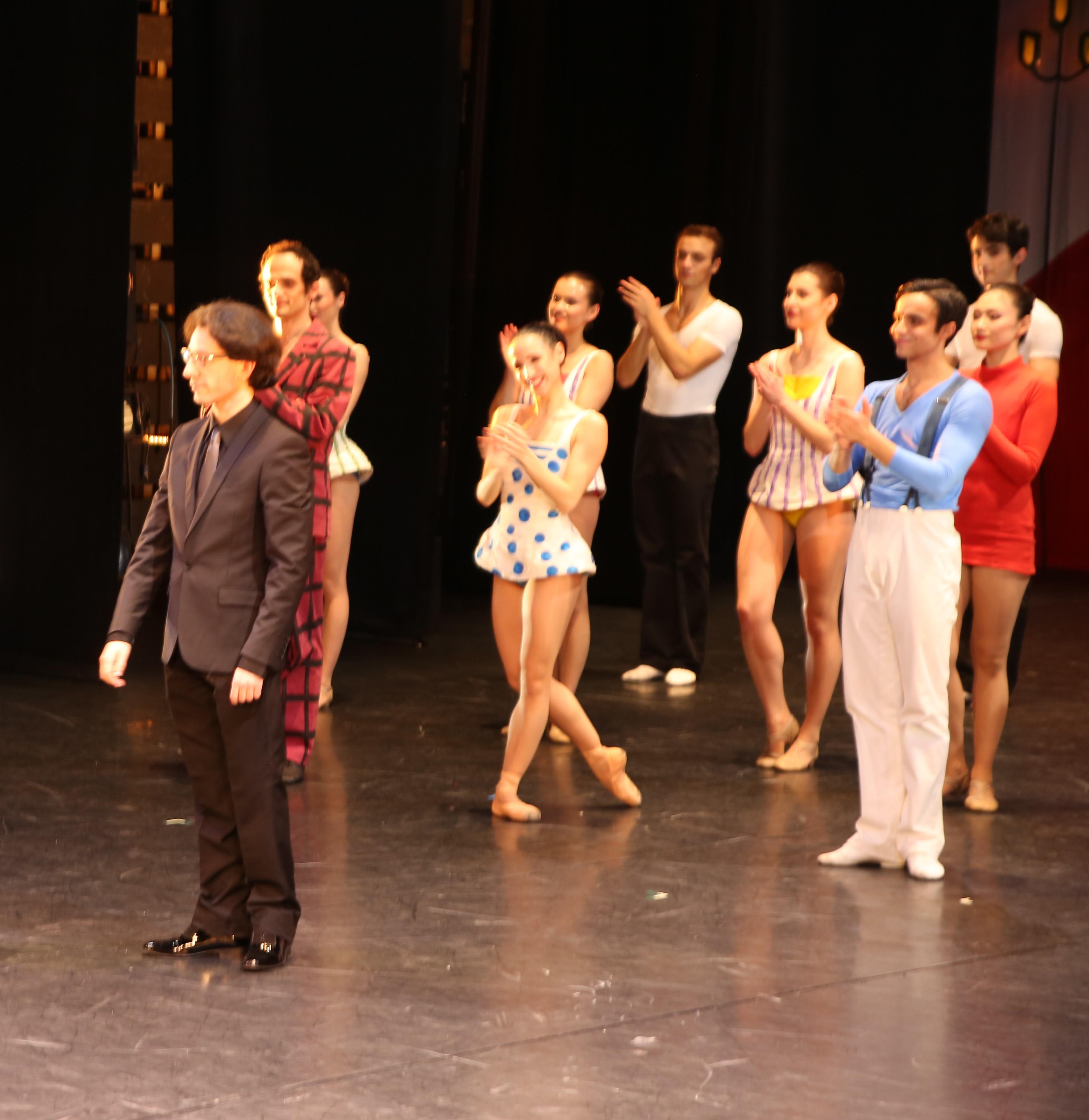 Léonard Ganvert très applaudi par le Ballet Nice Méditerranée