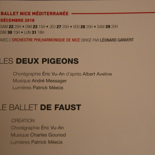 Les Deux pigeons et Faust
