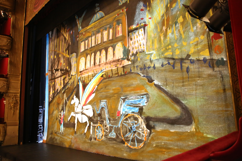 Le rideau de scène
