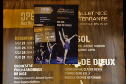 Les spectacles chorégraphiques de fin d'année, direction Léonard Ganvert