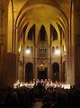 Léonard Ganvert dirige Harmoniemesse de J. Haydn, avec choeur, solistes et orchestre, à Paris.