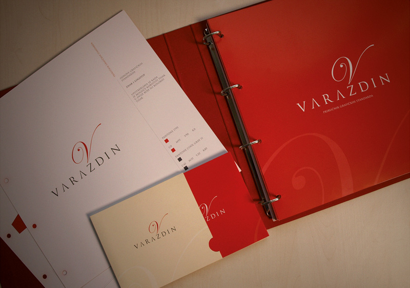 Varazdin - Visual identity and logo