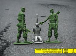 Amnesty International - Toy soldiers