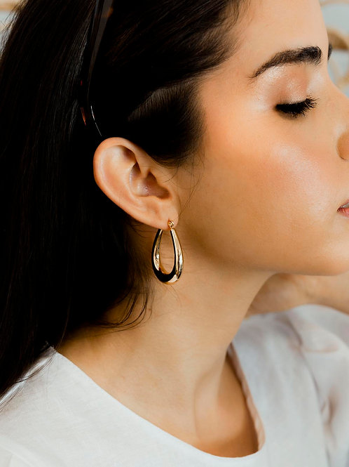 Coralie Loop Earrings