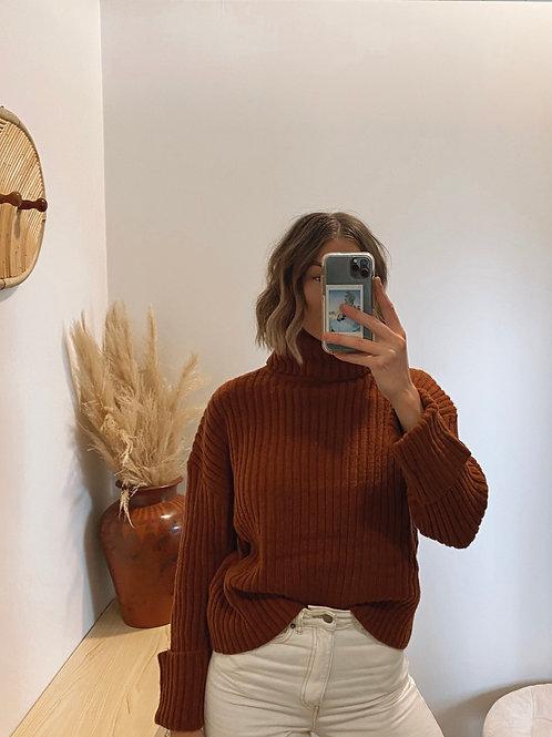 Barney Knit Rust