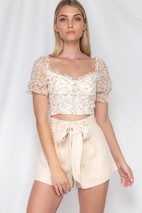Lily Frill Crop