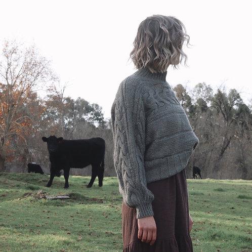 Lola Knit | Army Green