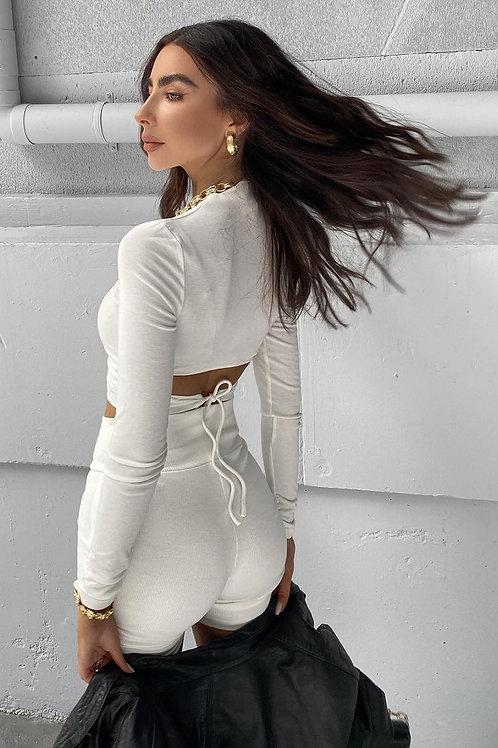 Celestina Top - White