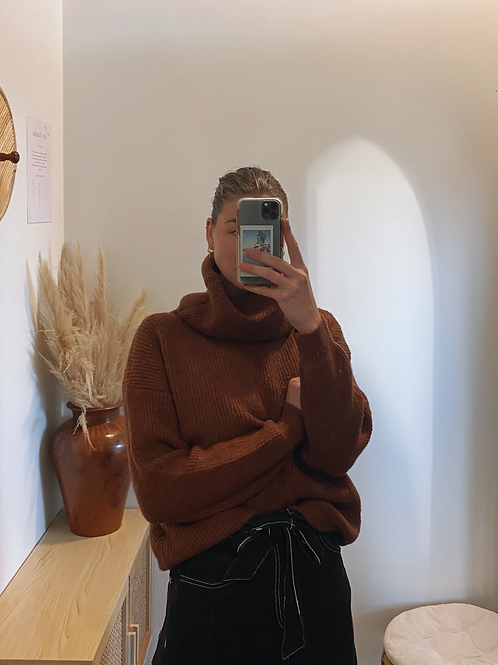 Esther Knit Rust