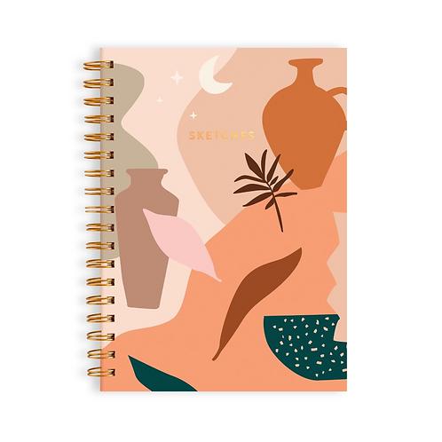 Muse Medium Spiral Sketchbook