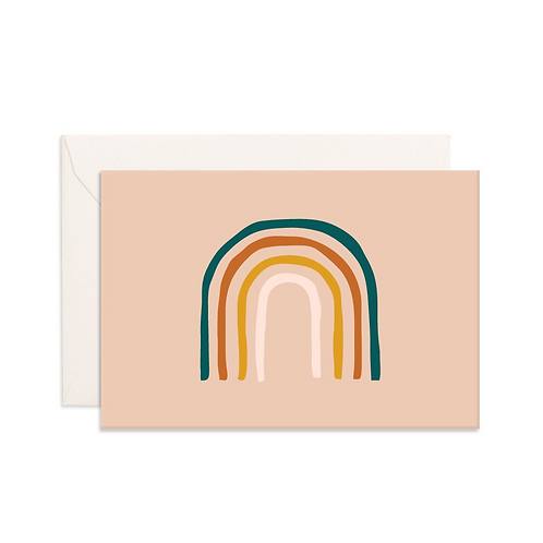 Rainbow Mini Greeting Card