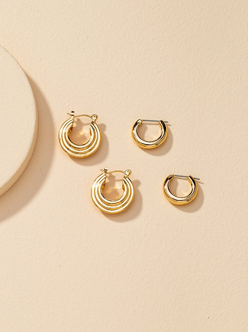 Gisella Duo Earring Set