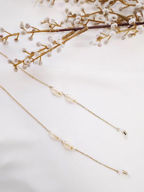 Catrinel Cowrie Dainty Sunglass Chain