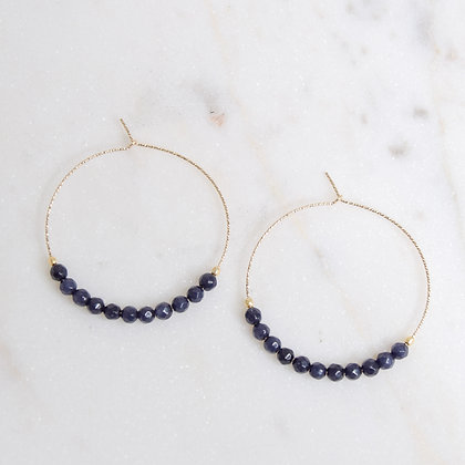 Sparkly Hoops