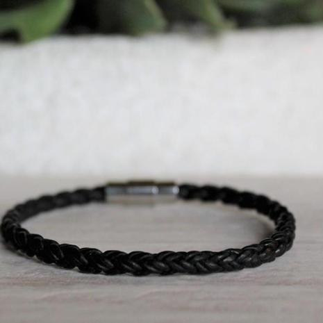 Braided Leather Bracelet $25.00
