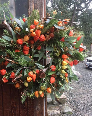 Extra Large Japanese Lantern Wreath