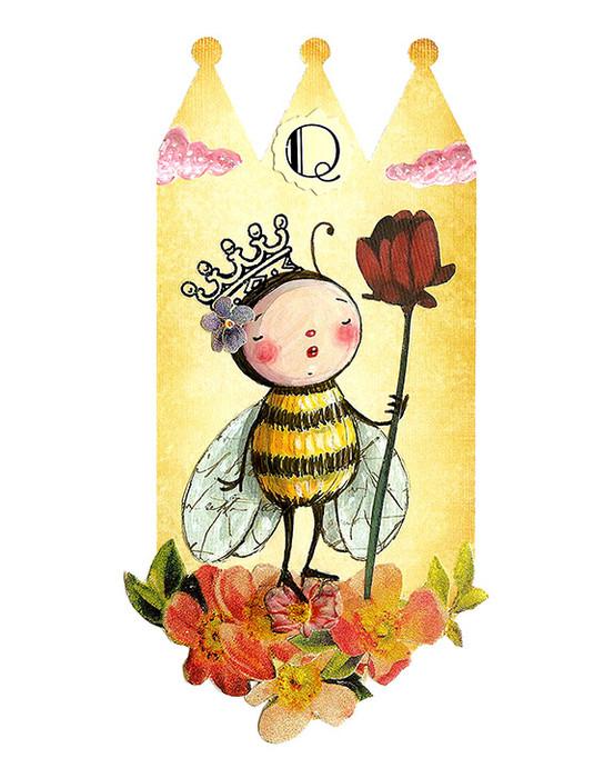Q is for Queen Bee