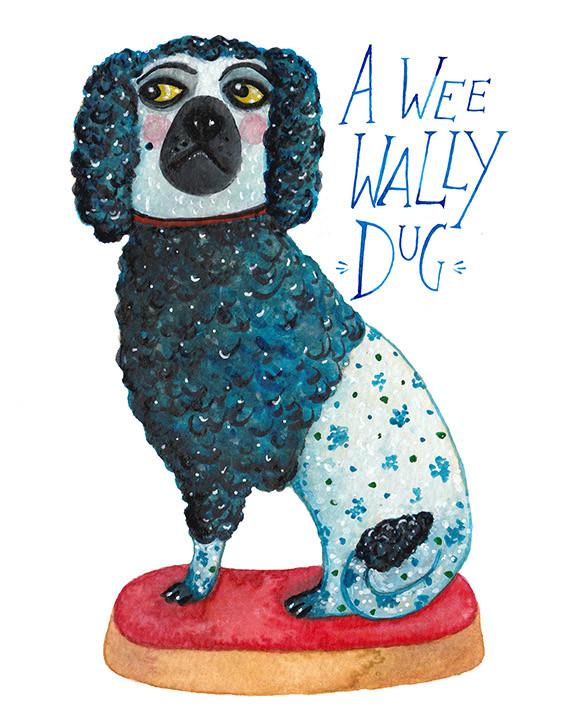 A wee wally dug