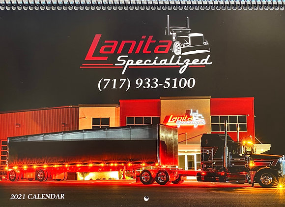 Spiral Lanita Specialized Calendar