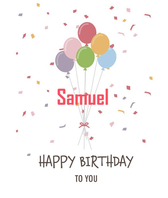 ¡¡Felicidades Samuel!!