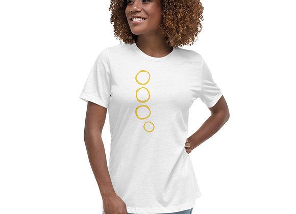 Horn Valve Caps Women's Relaxed T-Shirt