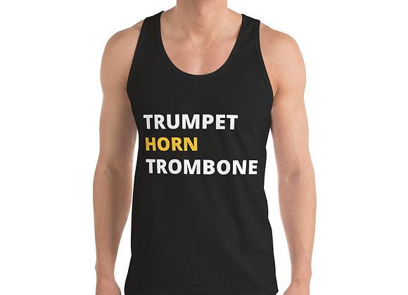 TRUMPET, HORN, TROMBONE Classic tank top (unisex)