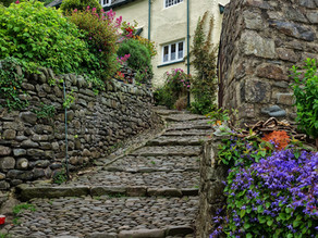 Writers View Clovelly England