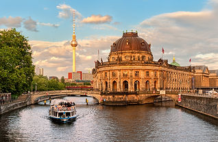 Museum island on Spree river and Alexand